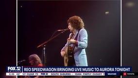 Live music returns to Aurora with REO Speedwagon