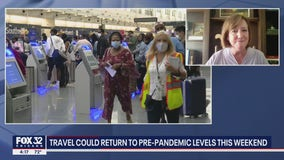AAA expects air travel to reach pre-pandemic levels this weekend, expect higher gas prices