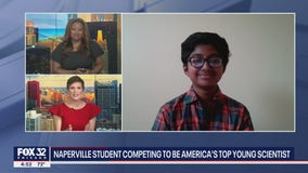 Naperville student competing to be America's top young scientist