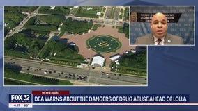Lollapalooza drug abuse: DEA warns of dangers