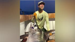 Maryland man spends 8 hours catching 300lb swordfish, ends up in hospital with infection