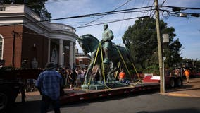 Confederate Robert E. Lee, Stonewall Jackson statues in Charlottesville removed
