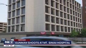 Gunman opens fire outside Mt. Sinai Hospital in Chicago, bullets smash through 3 windows