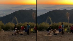 VIDEO: Bear attacks group of men on the 4th of July on Mount Wilson