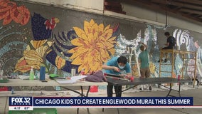 Chicago kids channel creativity into public art mural in Englewood
