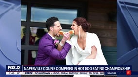 Naperville couple to compete in Nathan's Famous Hot Dog-Eating Contest