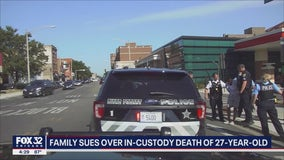 Family files lawsuit after Chicago man dies in suburban police custody