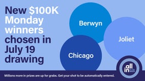 Illinois announces $100K 'All In for the Win' winners in Berwyn, Chicago and Joliet