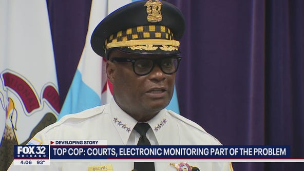 Chicago Police Supt. Brown continues to blame courts after another violent weekend