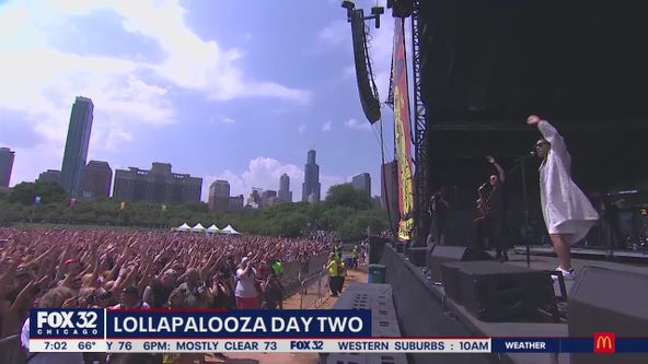 Thousands return for Day Two of Lollapalooza