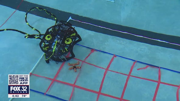 All-girls high school robotics team in Hoffman Estates preparing for international competition