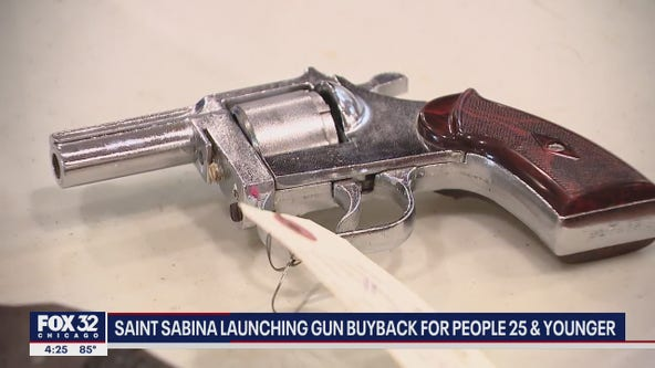 Gun buyback program launched by Saint Sabina Church