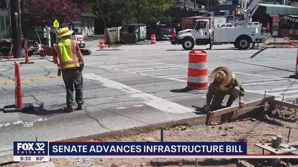 Senate approves half-trillion dollars in new spending to improve infrastructure