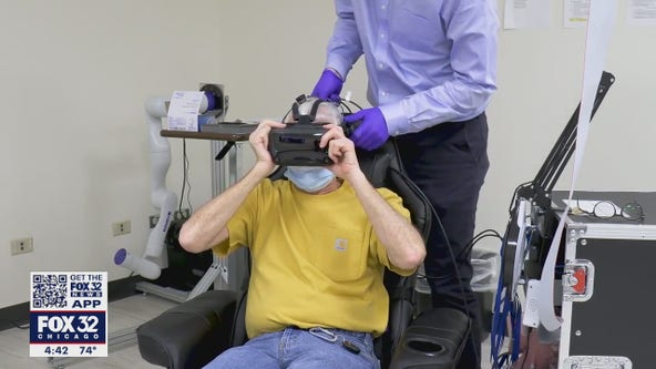 Chicago doctors using tech to help paralyzed patients move