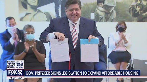 Pritzker signs legislation to expand affordable housing in Illinois