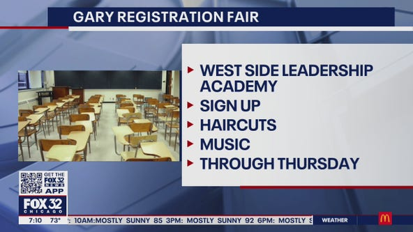 Gary school district holds back-to-school registration fair