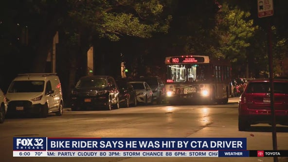 Cyclist critically injured after swerving into CTA bus in Little Italy