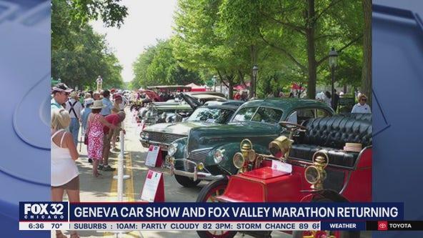 Geneva car show and Fox Valley marathon returning this summer