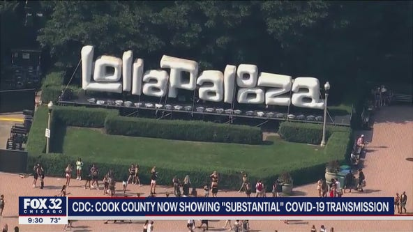 Health experts fear COVID case explosion after Lollapalooza