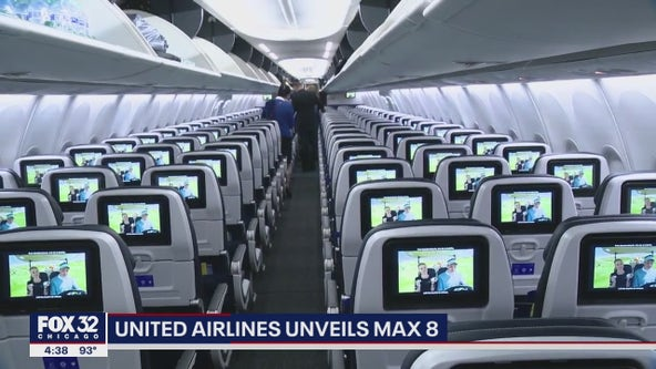 Inside United Airlines new Boeing 737 Max 8