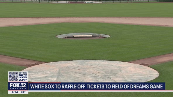 White Sox raffling off tickets for game against Yankees at Field of Dreams in Iowa
