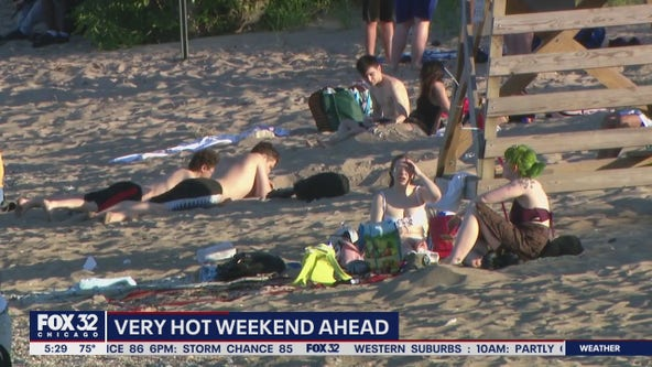 Chicago officials issue guidance for hot, humid weekend ahead