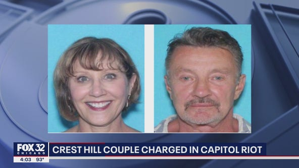 Crest Hill couple charged in US Capitol riot