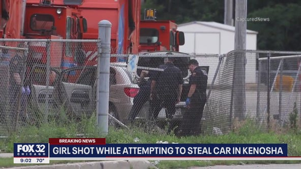 13-year-old carjacking suspect and person who shot her will both face charges, Kenosha police say