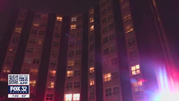 Multiple displaced after high rise fire in Skokie