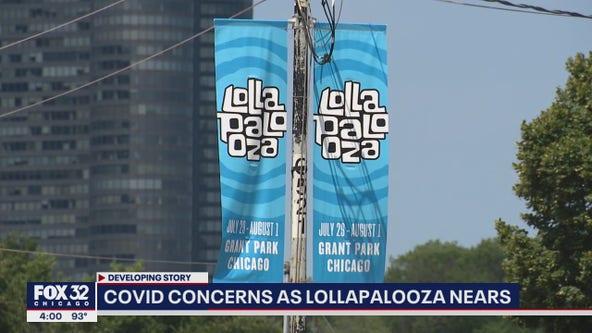 COVID-19 concerns rise as Lollapalooza nears
