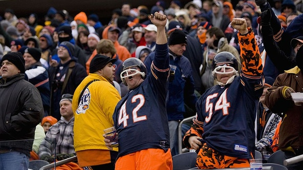 Bears fans rank among the booziest in the NFL, survey finds