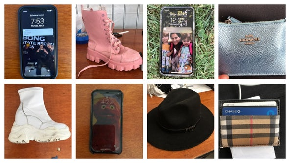 Lost stuff at Lollapalooza includes lots of vaccination cards, iPhones, and at least two boots