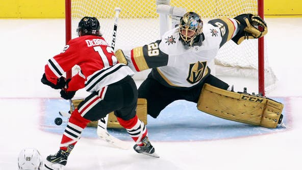 Blackhawks get Fleury from Vegas for minor leaguer: reports