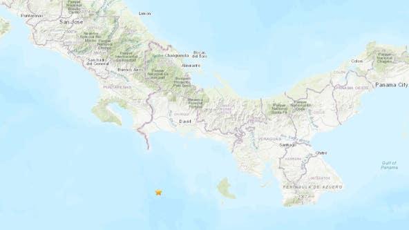 Powerful magnitude-6.8 quake shakes Panama and Costa Rica