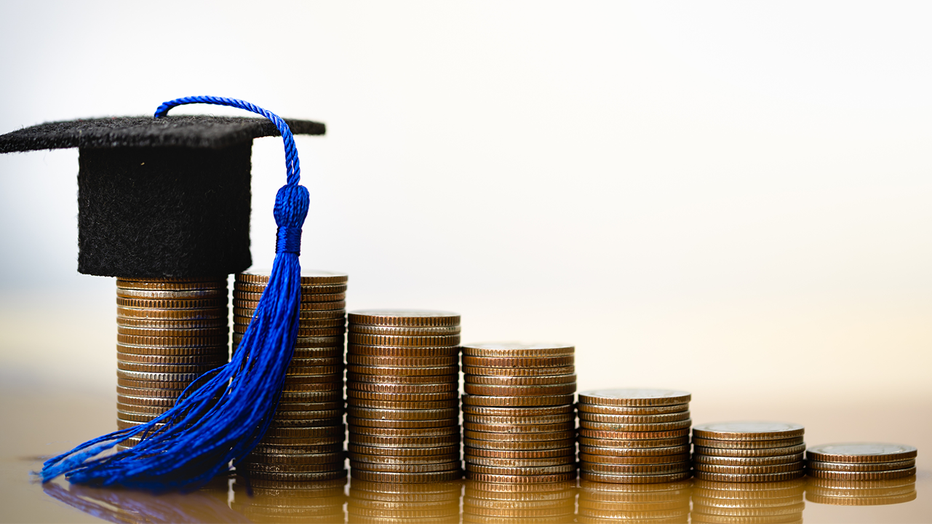 private-student-loans-grad-cap-coins-credible-iStock-1162366190.png