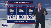 Evening forecast for Chicagoland on August 1st