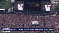 Impact of Lollapalooza remains to be seen