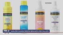 Major sunscreen brands recalled