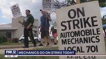 Chicago area mechanics go on strike