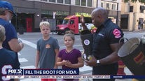 Chicago firefighters asking people to fill the boot Wednesday