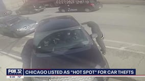 Chicago area listed as 'hot spot' for car thefts