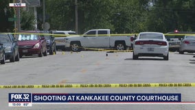 2 killed in 'brazen' gang-related shooting outside Kankakee County Courthouse, police say