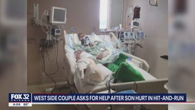 Chicago couple asks for help after son hurt in hit-and-run