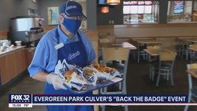 Chicago-area Culver's restaurants raising money to support police