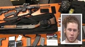 Grant Park man arrested after officers find stolen guns, ballistic vest, ammo