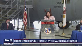Illinois Senator Tammy Duckworth: 'my focus is getting Americans out of Afghanistan'