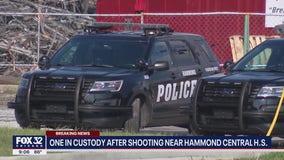2 students shot near Hammond Central High School; person of interest in custody