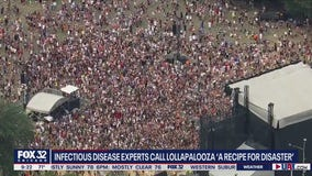 Infectious disease expert on potential Lollapalooza case surge: 'It would not be surprising'