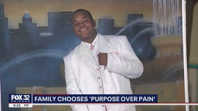 Family of teen murdered outside a Chicago church trying to turn their pain into purpose
