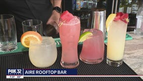 AIRE Rooftop Bar: Great drinks with a beautiful view